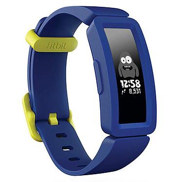 Fitbit Ace 2 Bleu Montre connectée pour enfant avec écran tactile OLED, Bluetooth compatible iOS, Android