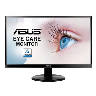 """ASUS 21.5"""" LED - VA229N 1920 x 1080 pixels - 5 ms (gris à gris) - Format large 16/9 - Dalle IPS - Ultra Low Blue Light - Flicker Free - D-Sub / DVI-D - Noir"""