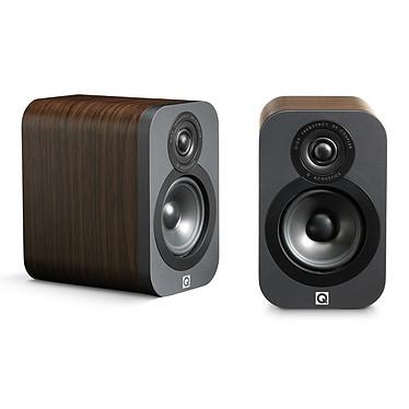 Q Acoustics 3010 Noyer Enceinte bibliothèque compacte (par paire)