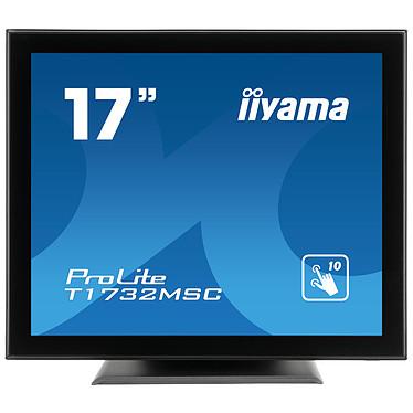 "iiyama 17"" LED Tactile - ProLite T1732MSC-B5X 1280 x 1024 pixels - Tactile MultiTouch - 5 ms - Format 5/4 - Dalle TN - Noir"