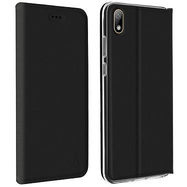 Akashi Etui Folio Porte Carte Noir Huawei Y5 2019 Etui folio avec porte carte pour Huawei Y5 2019