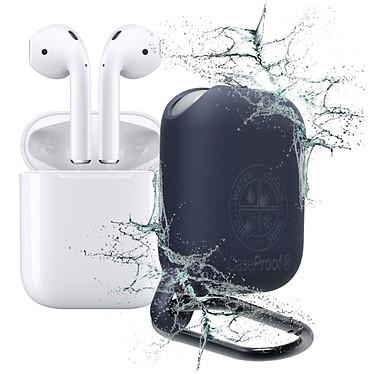 CaseProof Waterproof Airpods Case Bleu Étui étanche pour Apple Airpods