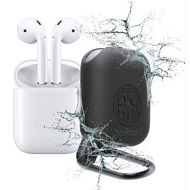 CaseProof Waterproof Airpods Case Noir Étui étanche pour Apple Airpods