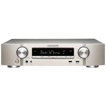 Marantz NR1510 Argent/Or Ampli-tuner Home Cinema Slim 3D Ready 5.2 - 85W/canal - Dolby TrueHD / DTS-HD Master Audio - 6x HDMI 4K UHD, HDCP 2.3 - HDR10/HLG/Dolby Vision - Multiroom - Wi-Fi/Bluetooth/DLNA/AirPlay 2 - Amazon Alexa/Google Assistant