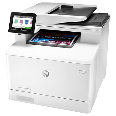 HP Color LaserJet Pro MFP M479FDW Imprimante multifonction laser couleur 4-en-1 recto/verso automatique - USB 2.0/Ethernet/Wi-Fi/Bluetooth