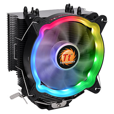 Thermaltake UX200 ARGB Ventilateur de processeur LED RGB PMW 120 mm pour socket Intel et AMD