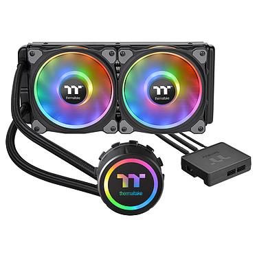 Thermaltake Floe Riing RGB 240 TT Premium Edition Kit de Watercooling tout-en-un pour processeur avec rétroéclairage RGB