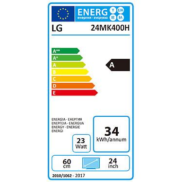 "LG 24"" LED 24MK400H pas cher"