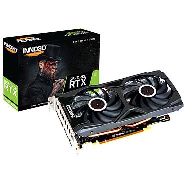 INNO3D GeForce RTX 2060 SUPER TWIN X2 OC 8 Go GDDR6 - HDMI/Tri DisplayPort - PCI Express (NVIDIA GeForce RTX 2060 SUPER)