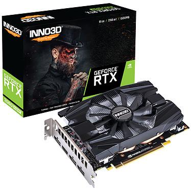 INNO3D GeForce RTX 2060 SUPER COMPACT 8 Go GDDR6 - HDMI/Tri DisplayPort - PCI Express (NVIDIA GeForce RTX 2060 SUPER)