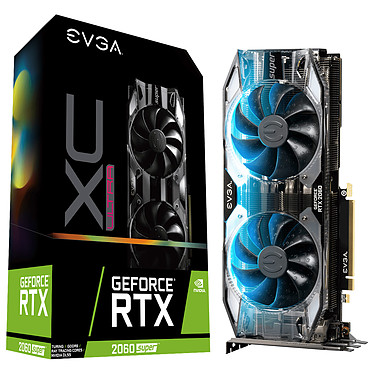 EVGA GeForce RTX 2060 SUPER XC ULTRA GAMING 8 Go GDDR6 - HDMI/Tri DisplayPort/USB Type-C - PCI Express (NVIDIA GeForce RTX 2060 SUPER)