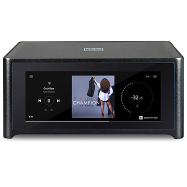 NAD M10 Amplificateur réseau stéréo 2 x 100 Watts - DAC 32 bits/384kHz - Wi-Fi/Bluetooth/AirPlay 2 - Multiroom BluOS - Hi-Res Audio