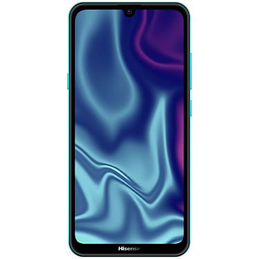"""Hisense Infinity H30 Lite Vert Givré Smartphone 4G-LTE Dual SIM - Spreadtrum SC9863 8-Core 1.6 GHz - RAM 3 Go - Ecran tactile 6.1"""" 720 x 1500 - 32 Go - Bluetooth 4.2 - 3000 mAh - Android 9.0"""
