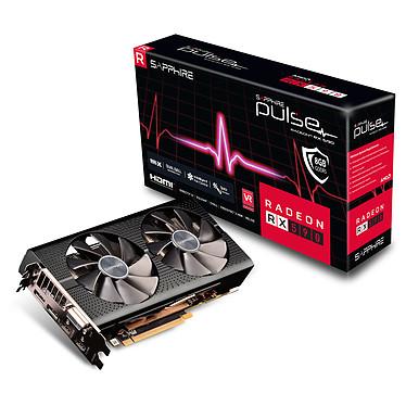 Sapphire PULSE Radeon RX 590 8G 8 Go GDDR5 - DVI/Dual HDMI/Dual DisplayPort - PCI Express (AMD Radeon RX 590)