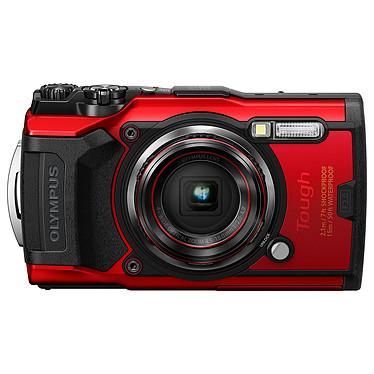 "Olympus TG-6 Rouge Appareil photo baroudeur 12 MP - Zoom grand-angle 4x - Vidéo 4K - Ecran LCD 3"" - GPS/Boussole - Wi-Fi"
