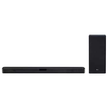 LG SL5Y Barre de son 2.1 400 W - DTS Virtual:X - Hi-Res Audio - Bluetooth 4.0 - HDMI - Caisson de basses sans fil