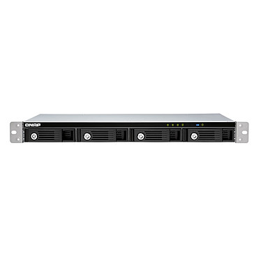 """QNAP TR-004U Boitier d'extension RAID monté en rack USB-C 3.0 - 4 baies 2.5""""/3.5"""" SATA (sans disque dur)"""