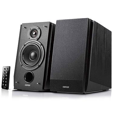 Edifier R1850DB Noir Kit d'enceintes multimédia 2.0 - 70W RMS - Bluetooth - RCA - télécommande sans fil