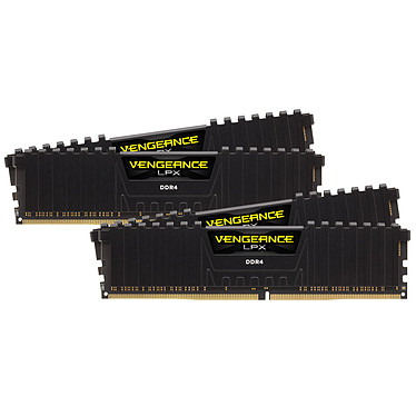 Corsair Vengeance LPX Series Low Profile 128 Go (4 x 32 Go) DDR4 2400 MHz CL16
