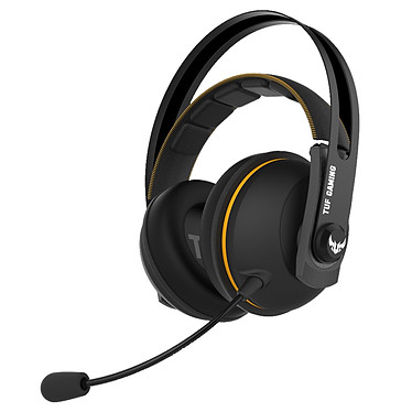 ASUS TUF Gaming H7 Wireless Casque-micro sans fil pour gamer (compatible PC / Mac / PlayStation 4)