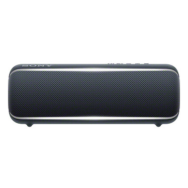 Sony SRS-XB22 Noir Enceinte portable sans fil IP67 avec Extra Bass, Live Sound, Party Booster, NFC et Bluetooth