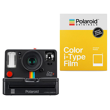 Polaroid OneStep+ Noir + Color i-Type Film