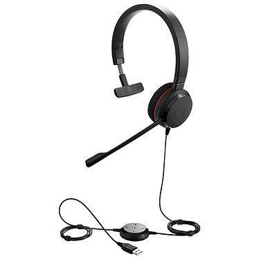 Jabra Evolve 20 UC Mono Micro-casque filaire mono optimisé Lync pour softphones VoIP