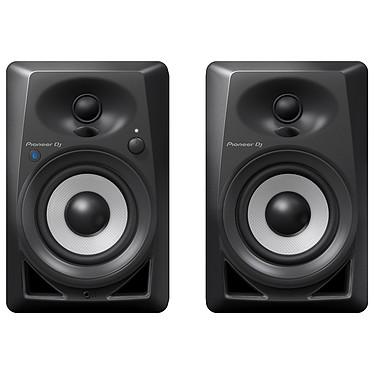 Pioneer DJ DM-40BT Noir Enceinte de monitoring active compacte 42 Watts avec technologie sans fil Bluetooth 4.2 (par paire)