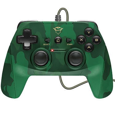 Trust Gaming GXT 540 Yula Camo Manette filaire (compatible PC / PlayStation 3)