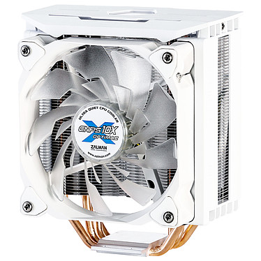 Zalman CNPS10X Optima II (Blanc) Ventilateur LED RGB PWM pour processeur pour socket Intel et AMD