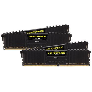 Corsair Vengeance LPX Series Low Profile 64 Go (4 x 16 Go) DDR4 4000 MHz CL18 Kit Dual Channel 4 barrettes de RAM DDR4 PC4-32000 - CMK64GX4M4X4000C18