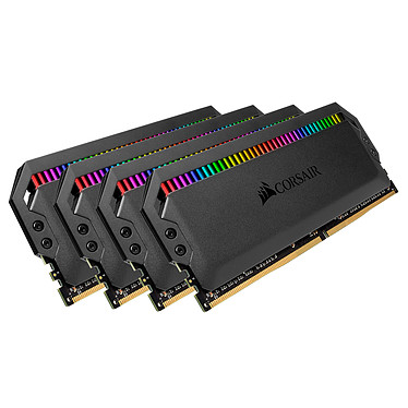 Avis Corsair Dominator Platinum RGB 32 Go (4 x 8 Go) DDR4 4266 MHz CL19
