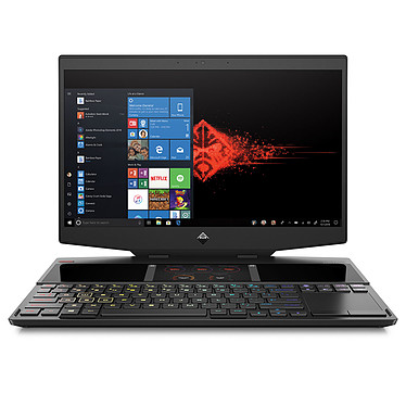 "HP OMEN X 2S 15-dg0007nf Intel Core i7-9750H 16 Go SSD 1 To 15.6"" LED Full HD 144 Hz G-SYNC NVIDIA GeForce RTX 2080 8 GB Wi-Fi AC/Bluetooth Webcam Windows 10 Famille 64 bits"