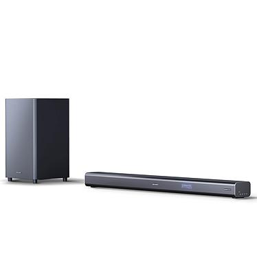 Sharp HT-SBW460 Barre de son 3.1 440W - Dolby Atmos - 4K Pass Through - Bluetooth 4.2 - HDMI/AUX/USB - Caisson de basses sans fil