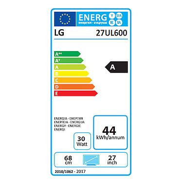 "LG 27"" LED 27UL600-W pas cher"
