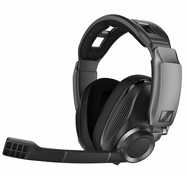 Sennheiser GSP 670 Casque-micro circum-auriculaire fermé gaming - Bluetooth 5.0 - Son Surround 7.1 - Autonomie 20h - Microphone qualité broadcast - PC/PS4