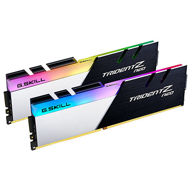 G.Skill Trident Z Neo 16 GB (2x 8 GB) DDR4 3200 MHz CL16 Kit Dual Channel 2 tiras de RAM DDR4 PC4-25600 - F4-3200C16D-16GTZN con LED RGB