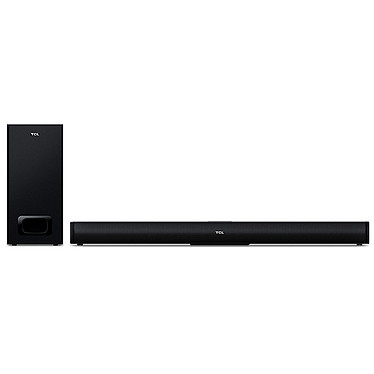 TCL TS5010 Barre de son 2.1 120 Watts - Dolby Digital - Bluetooth 4.2 - USB - Caisson de basses sans fil