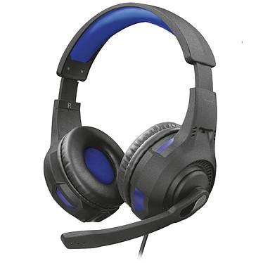 Trust Gaming GXT 307B Ravu Casque-micro gamer - circum-aural fermé - son stéréo - microphone pliable - Jack 3.5 mm - compatible PC et PlayStation 4