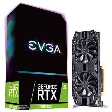 EVGA GeForce RTX 2080 SUPER BLACK GAMING 8 Go GDDR6 - HDMI/Tri DisplayPort/USB Type-C - PCI Express (NVIDIA GeForce RTX 2080 SUPER)