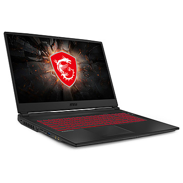"MSI GL75 Leopard 10SER-037XFR Intel Core i7-10750H 16 Go SSD 256 Go + HDD 1 To 17.3"" LED Full HD 120 Hz NVIDIA GeForce RTX 2060 6 Go Wi-Fi AC/Bluetooth Webcam FreeDOS"