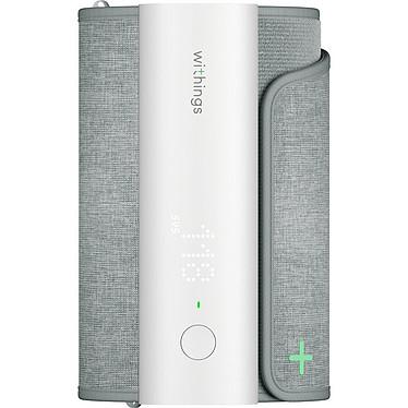 Withings BPM Connect Tensiomètre connecté - Wi-Fi/Bluetooth 4.0 - Mesure de la tension et du rythme cardiaque - Compatible iOS et Android - Autonomie 6 mois