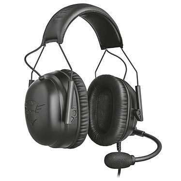 Trust Gaming GXT 444 Wayman Casque-micro gamer - circum-aural fermé - son stéréo - microphone unidirectionnel - Jack 3,5 mm - compatible PC et consoles