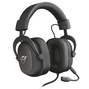 Trust Gaming GXT 414 Zamak Casque-micro gamer - circum-aural fermé - son stéréo - microphone flexible amovible - Jack 3,5 mm - compatible PC et consoles