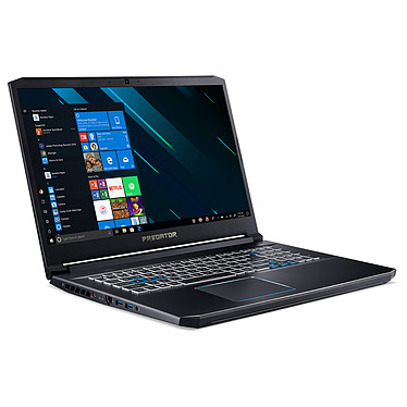 "Acer Predator Helios 300 PH317-53-76SP Intel Core i7-9750H 16 Go SSD 256 Go + HDD 1 To 17.3"" LED Full HD 144 Hz NVIDIA GeForce RTX 2060 6 Go Wi-Fi AC/Bluetooth Webcam Windows 10 Famille 64 bits"