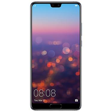 "Huawei P20 Bleu Smartphone 4G-LTE Advanced Dual SIM - Kirin 970 8-Core 2.36 GHz - RAM 4 Go - Ecran tactile 5.84"" 1080 x 2240 - 128 Go - NFC/Bluetooth 4.2 - 3400 mAh - Android 8.1"