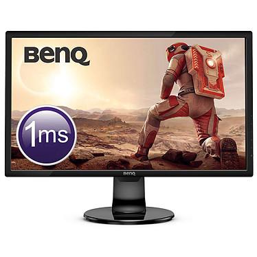 """BenQ 24"""" LED - GL2460BH 1920 x 1080 pixels - 1 ms (gris à gris) - Format large 16/9 - Dalle TN - HDMI/VGA - Noir"""