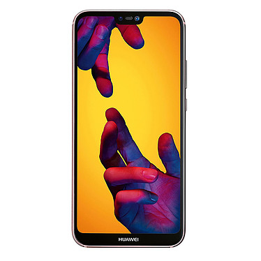 "Huawei P20 Lite Rose Smartphone 4G-LTE Advanced Dual SIM - Kirin 659 8-Core 2.36 GHz - RAM 4 Go - Ecran tactile 5.84"" 1080 x 2280 - 64 Go - NFC/Bluetooth 4.2 - 3000 mAh - Android 8.0"