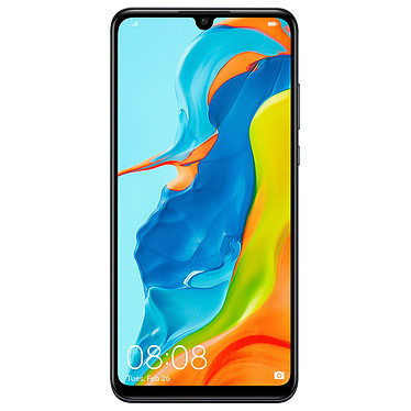 "Huawei P30 Lite Noir (4 Go / 128 Go) Smartphone 4G-LTE Advanced Dual SIM - Kirin 710 Octo-Core 2.2 GHz - RAM 4 Go - Ecran tactile 6.15"" 1080 x 2312 - 128 Go - NFC/Bluetooth 4.2 - 3340 mAh - Android 9.0"