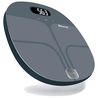 Terraillon Web Coach Shape Balance connectée impédancemètre avec IMC, sauvegarde 8 utilisateurs, Bluetooth (iOS et Android)